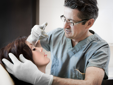 Facial rejuvenation by injections...